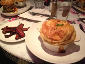 Deville Diner Bar - Shepard's pot pie