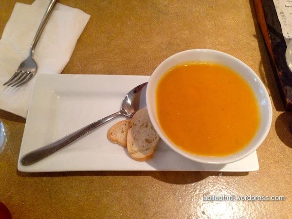 La Bêtise - Sweet potato soup