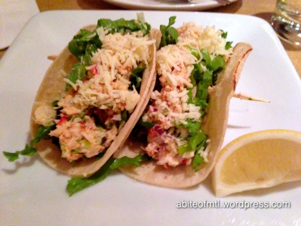La Bêtise - Lobster mini-tacos