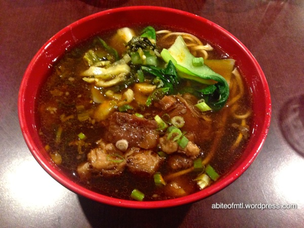Nudo - Braised beef noodle