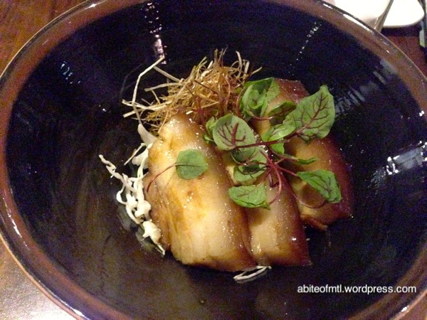 Kyo Bar Japonais - Kakuni Pork Braised pork belly
