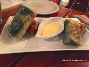 Invitation V - Vegetable roll