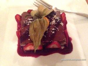 Invitation V - Chia chocolate cake