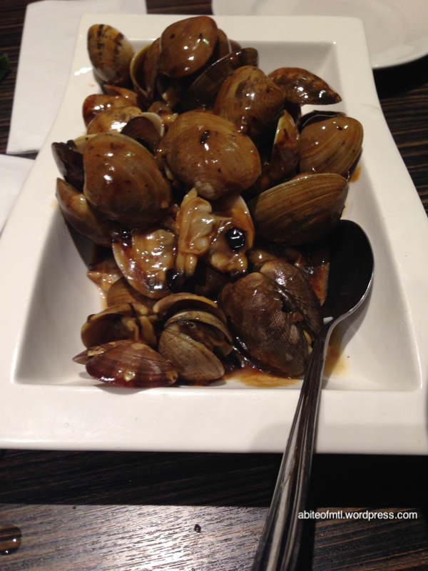 Kanbai - Clams with Black Bean Sauce