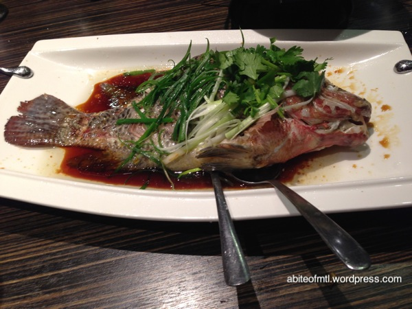 Kanbai - Steamed Fish
