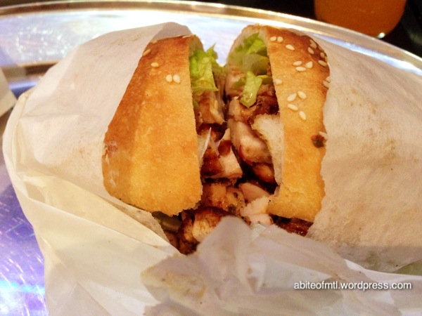 Antep Kabab - Chicken Sandwich