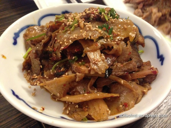 Kanbai - Beef slices in chili sauce