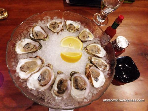 Kuu Bistro - Oysters