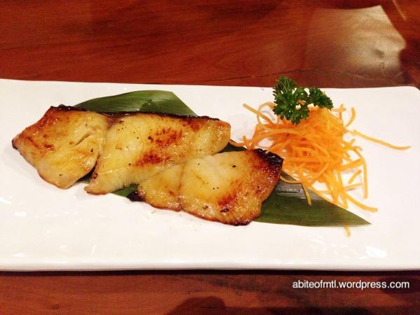 Kuu Bistro - Grilled Miso Black Cod