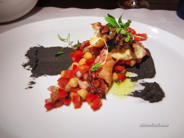 Helena - Grilled Octopus Grilled Octopus, tomatoes & peppers
