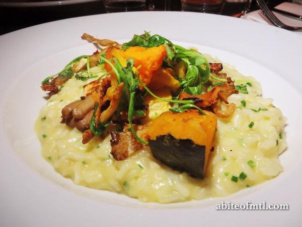 Communion - Pumpkin Risotto, fall harvest vegetables